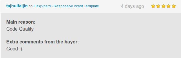 FlexyVcard - Responsive Vcard Template